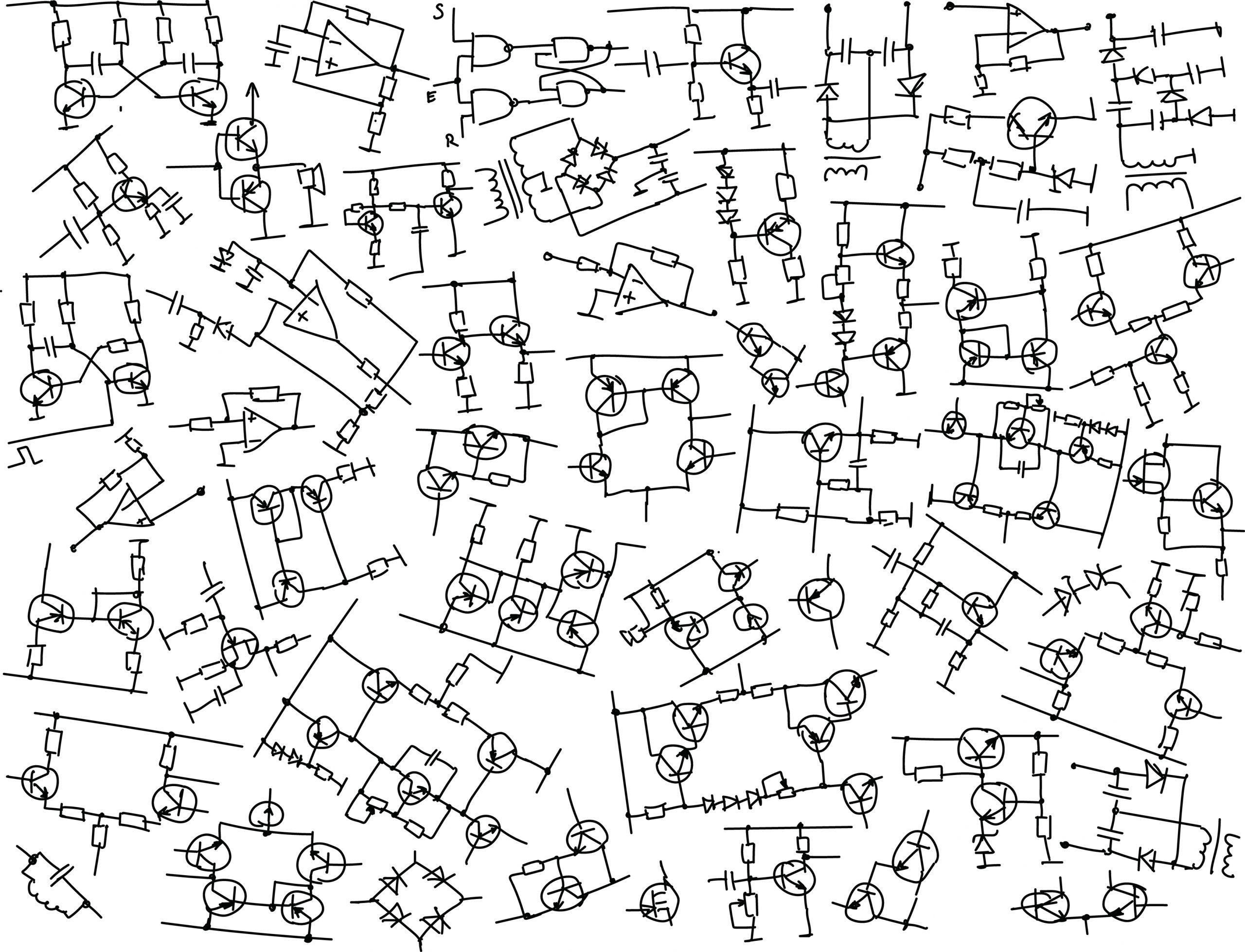 Circuit Synthesis for Analog Computing